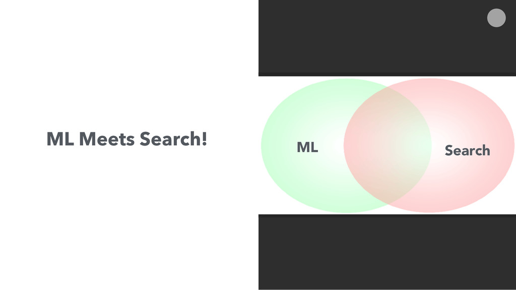 ML Meets Search! ML Search