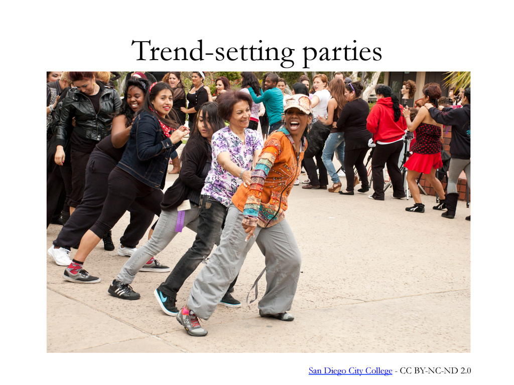 Trend-setting parties San Diego City College - ...