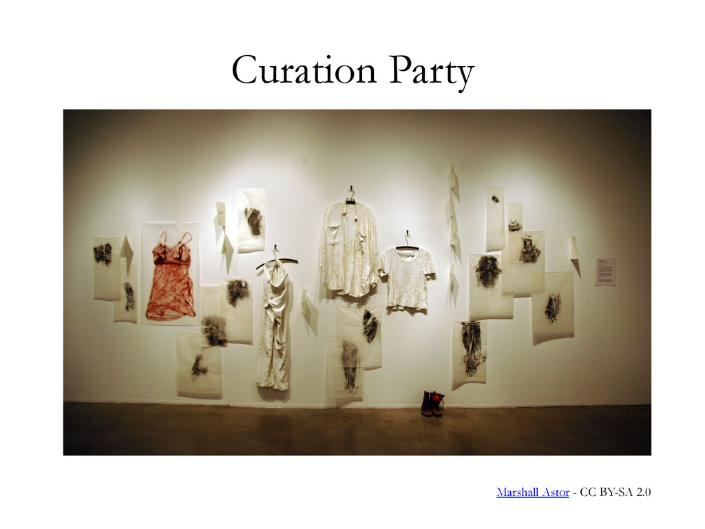 Curation Party Marshall Astor - CC BY-SA 2.0