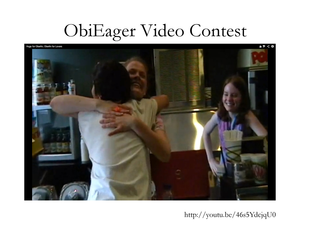 ObiEager Video Contest http://youtu.be/46s5Ydcj...