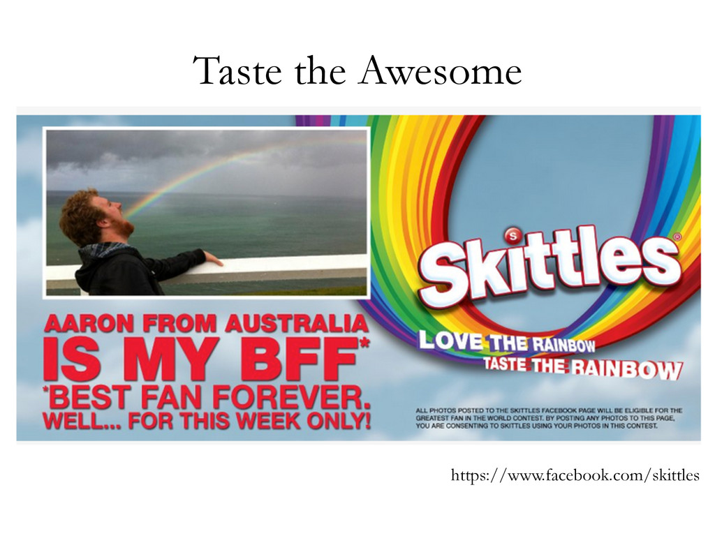 Taste the Awesome https://www.facebook.com/skit...
