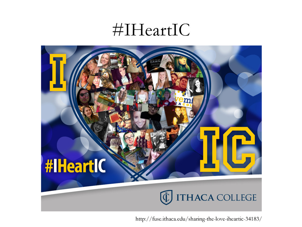 #IHeartIC http://fuse.ithaca.edu/sharing-the-lo...