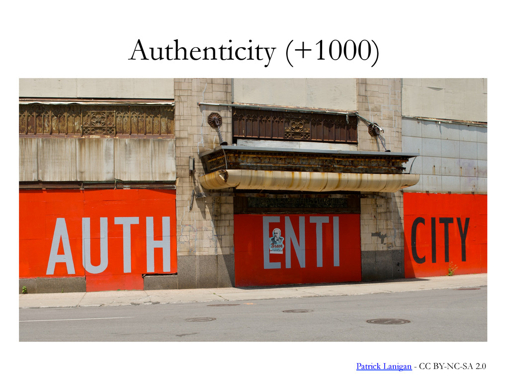 Authenticity (+1000) See it to believe it. Patr...