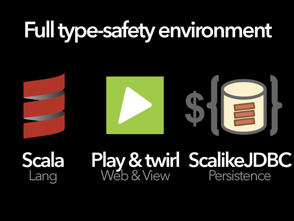 Full type-safety environment Scala Lang Play & ...