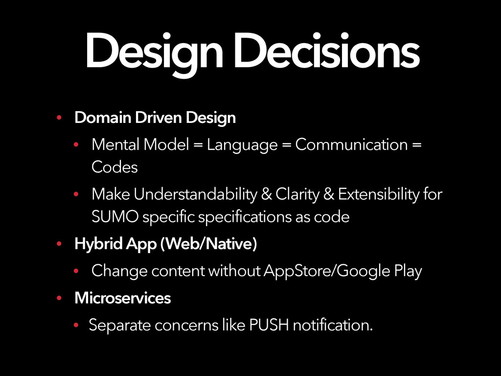 Design Decisions • Domain Driven Design • Menta...