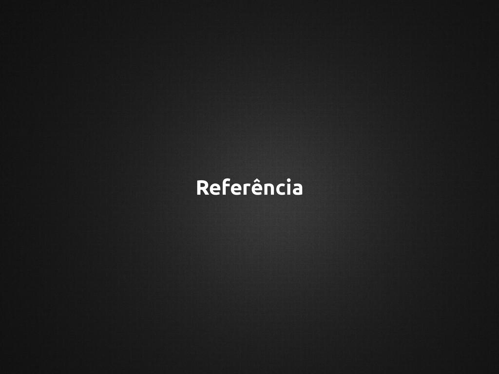 Referência
