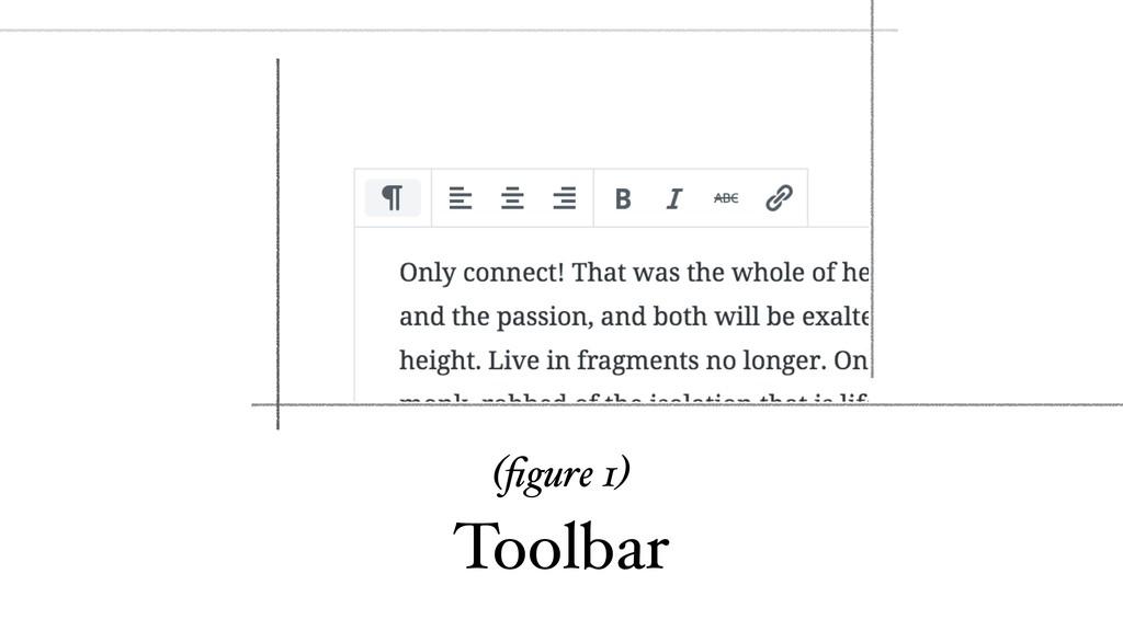 (figure 1) Toolbar
