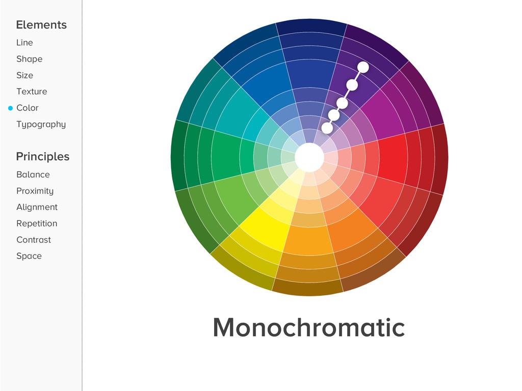Elements Line Shape Size Texture Color Typograp...
