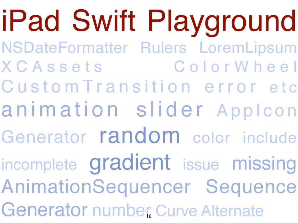 iPad Swift Playground NSDateFormatter Rulers Lo...