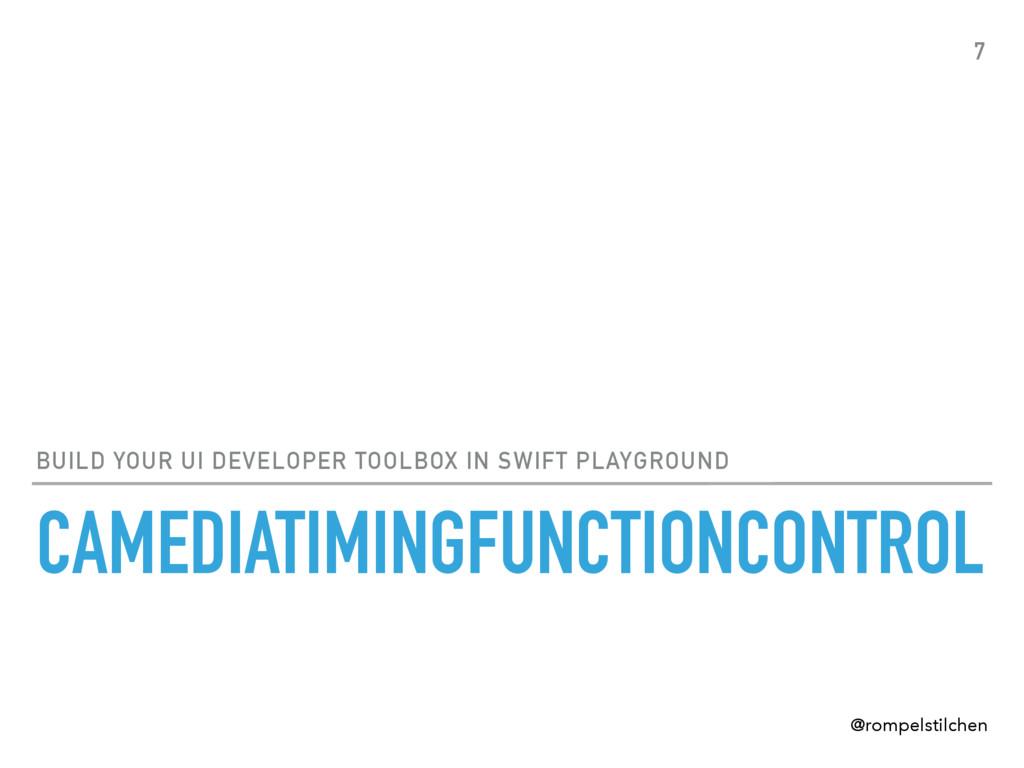 CAMEDIATIMINGFUNCTIONCONTROL BUILD YOUR UI DEVE...