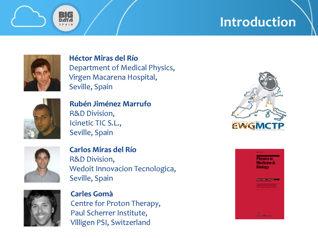 Introduction Héctor Miras del Río Department of...