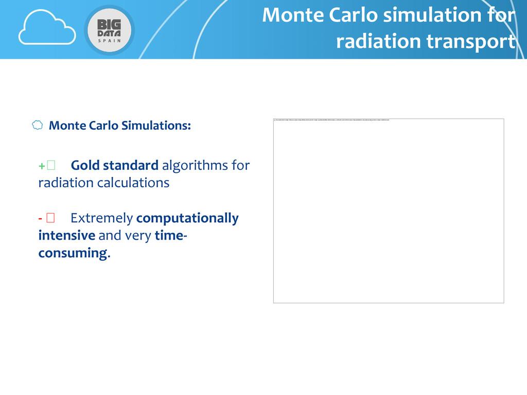 + Gold standard algorithms for radiation calcul...