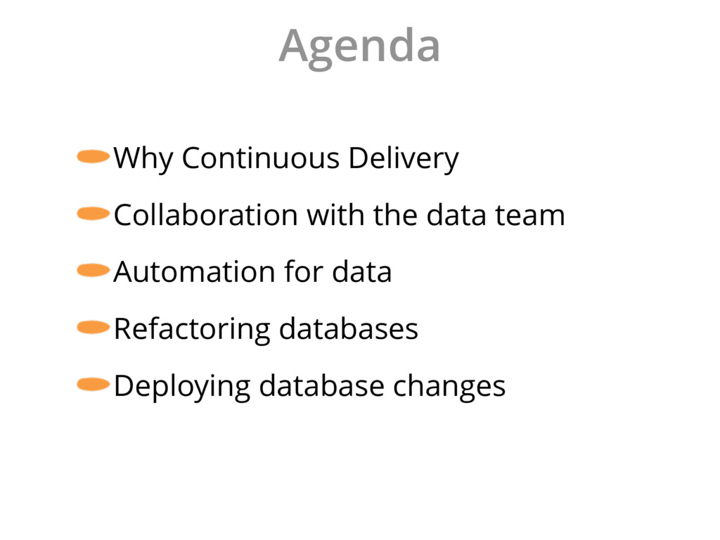 Agenda Why Continuous Delivery Collaboration wi...