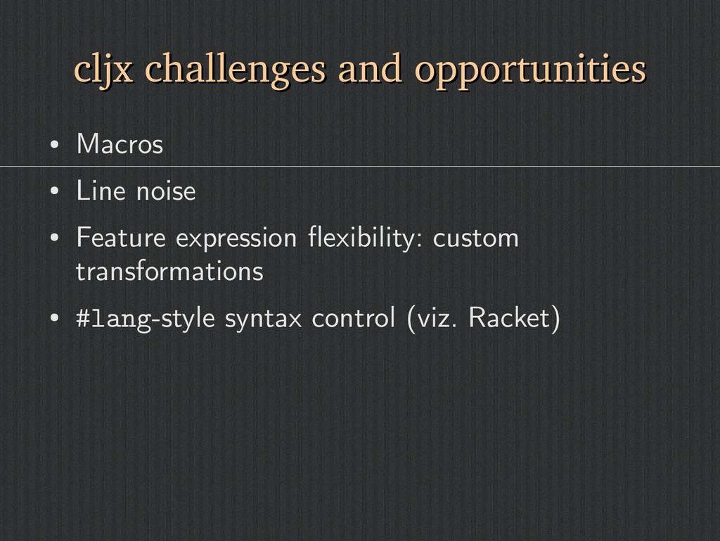 cljx challenges and opportunities cljx challeng...