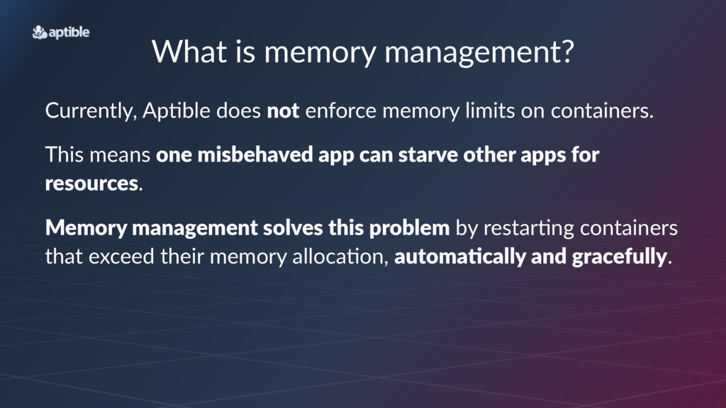 What%is%memory%management? Currently,*Ap-ble*do...