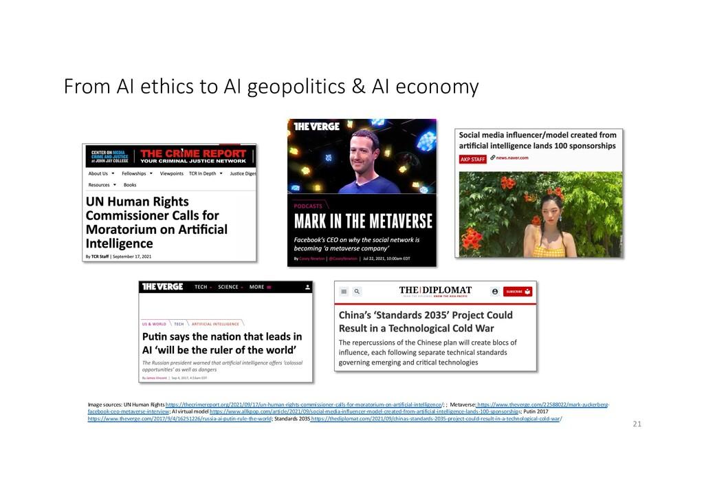 From AI ethics to AI geopolitics & AI economy x...