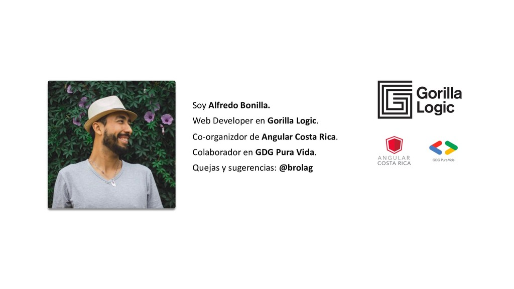 Soy Alfredo Bonilla. Web Developer en Gorilla L...