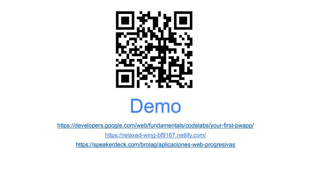 Demo https://developers.google.com/web/fundamen...