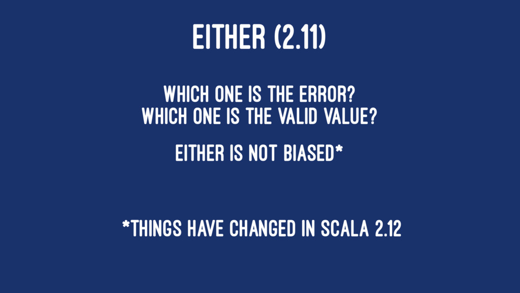 EITHER (2.11) Which one is the error? Which one...