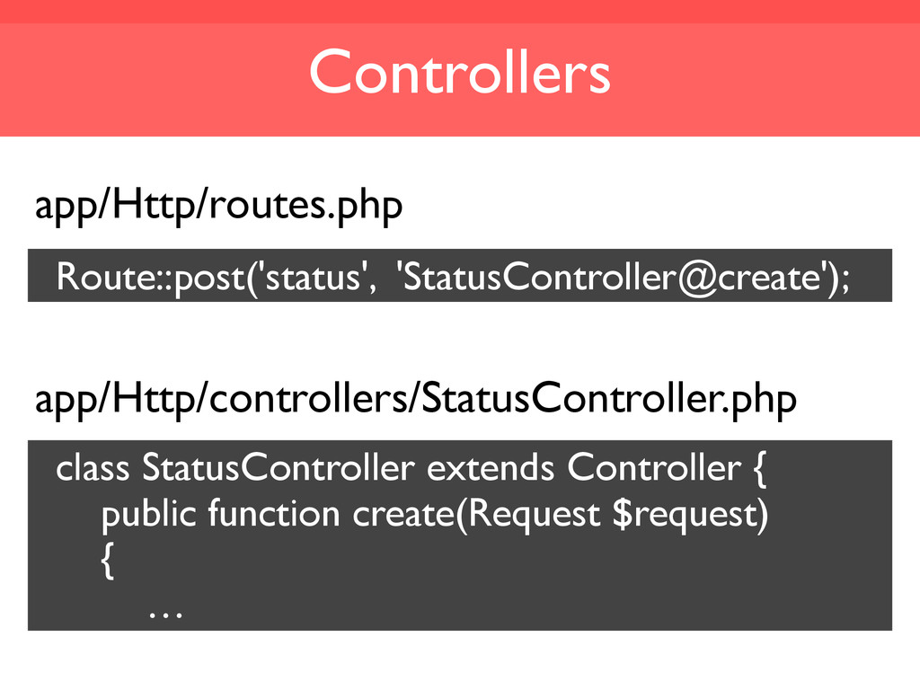 Controllers app/Http/routes.php Route::post('st...