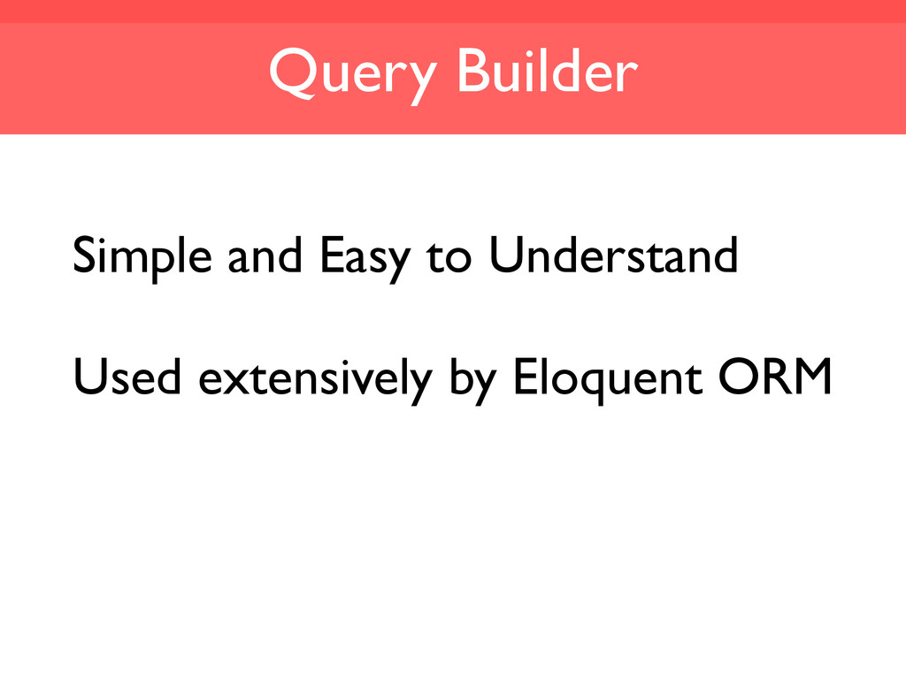 Query Builder Simple and Easy to Understand Use...