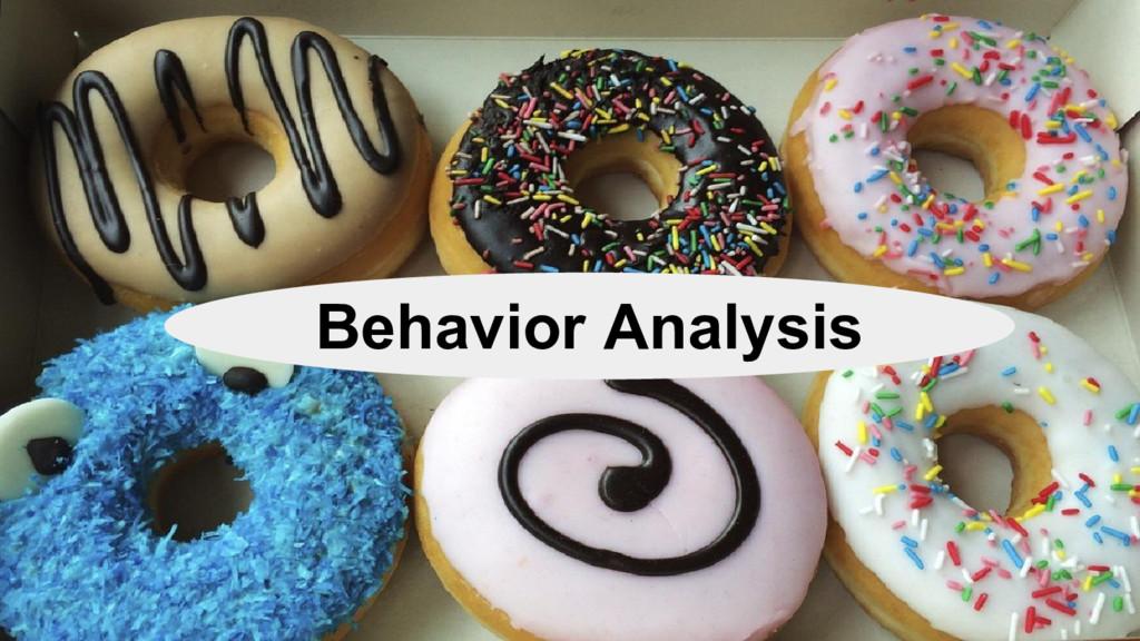 @nyghtowl Behavior Analysis