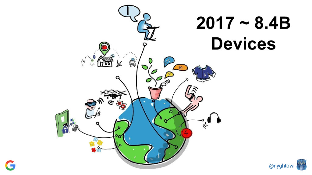 @nyghtowl 2017 ~ 8.4B Devices