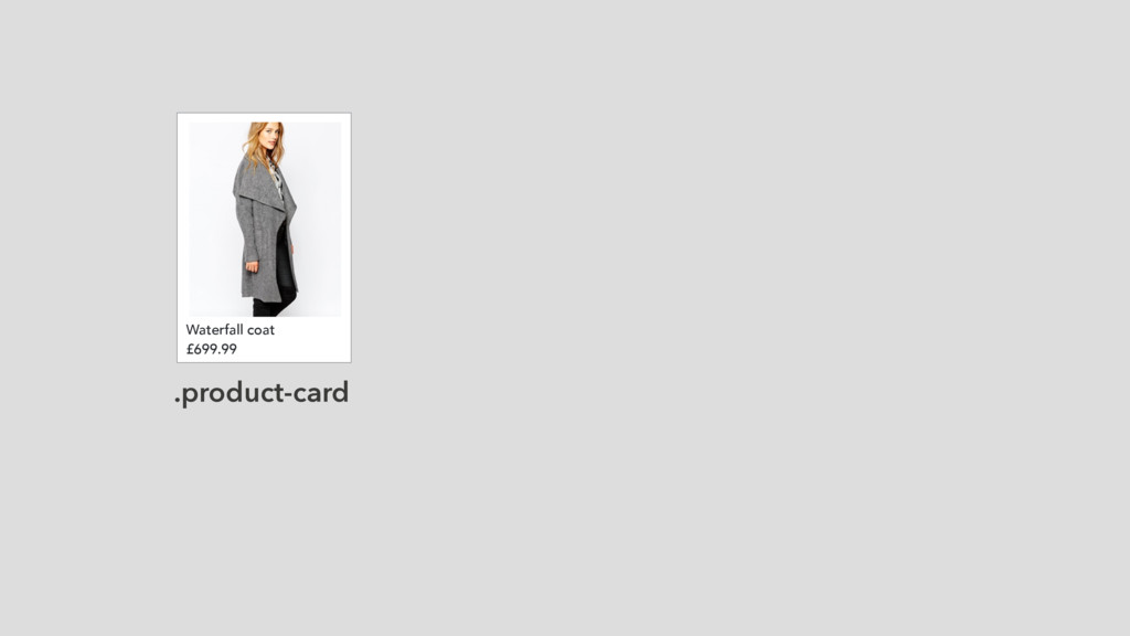 Waterfall coat £699.99 .product-card