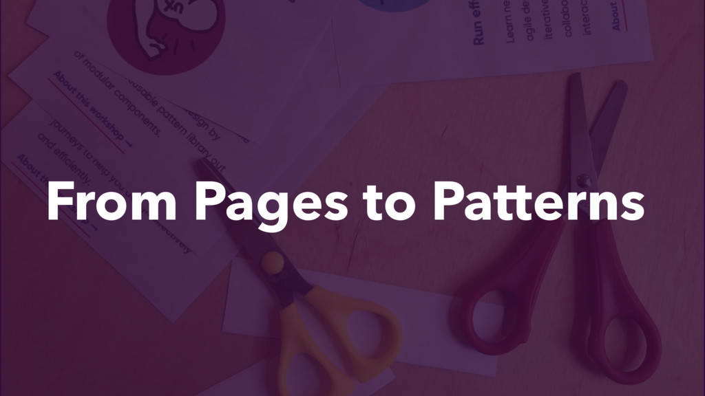 From Pages to Patterns