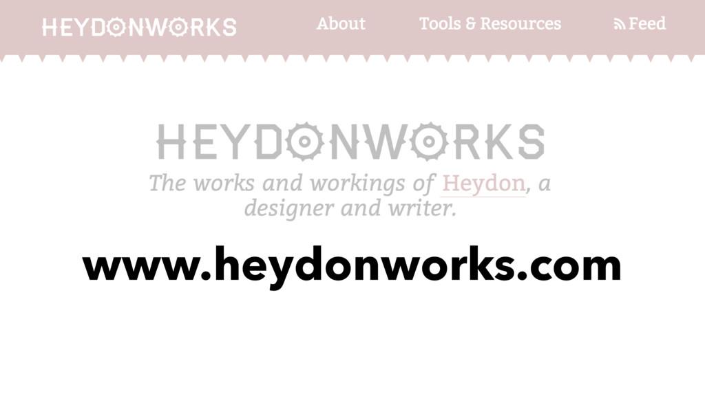 www.heydonworks.com