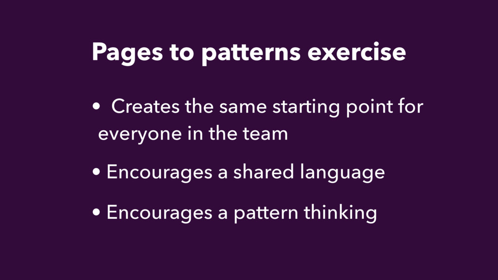 • Encourages a shared language • Creates the sa...