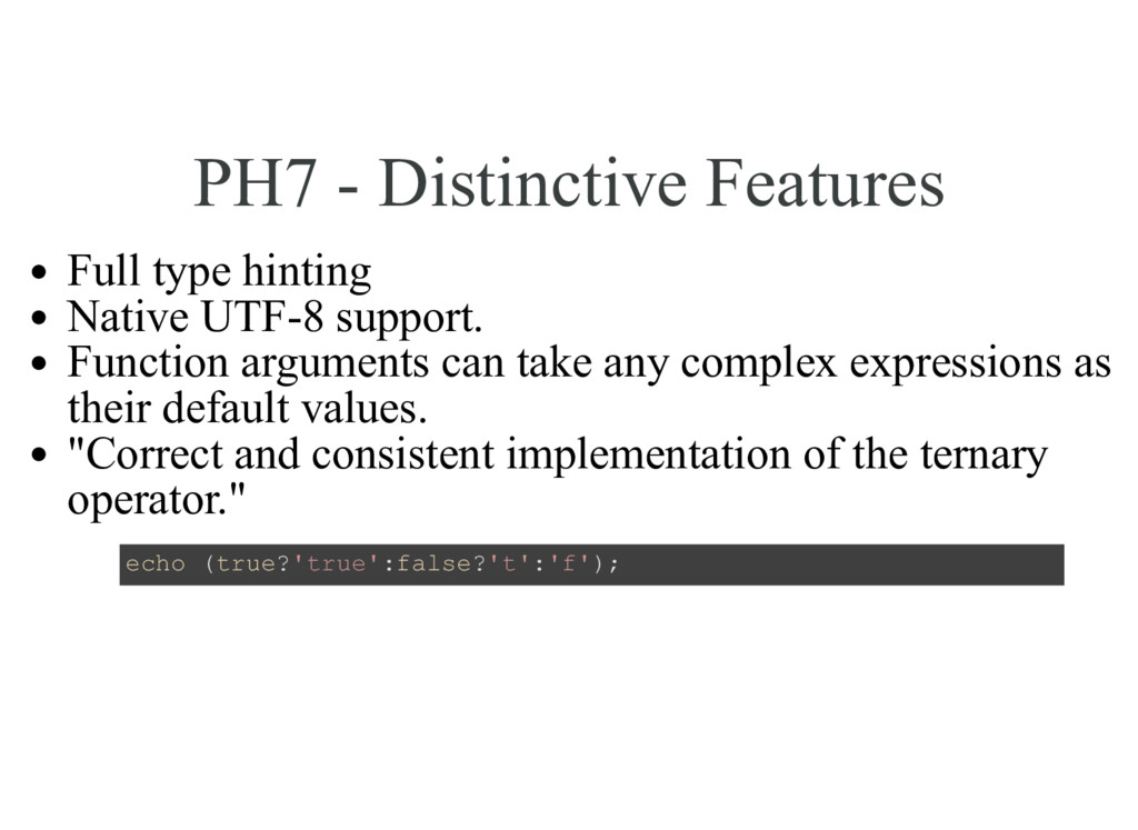 PH7 - Distinctive Features Full type hinting Na...