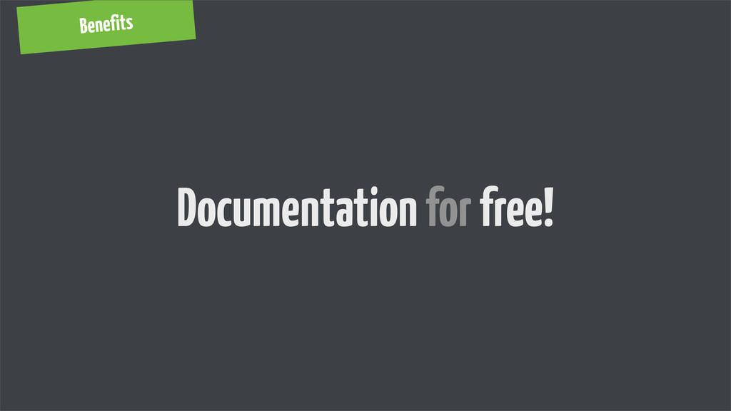 Benefits Documentation for free!