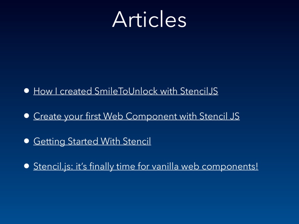 Articles • How I created SmileToUnlock with Ste...