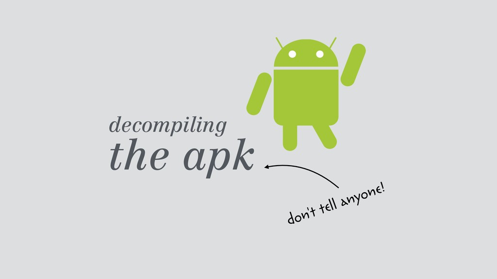 decompiling 