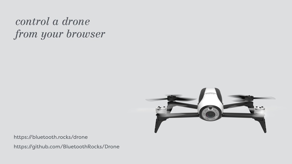 https:/ /bluetooth.rocks/drone