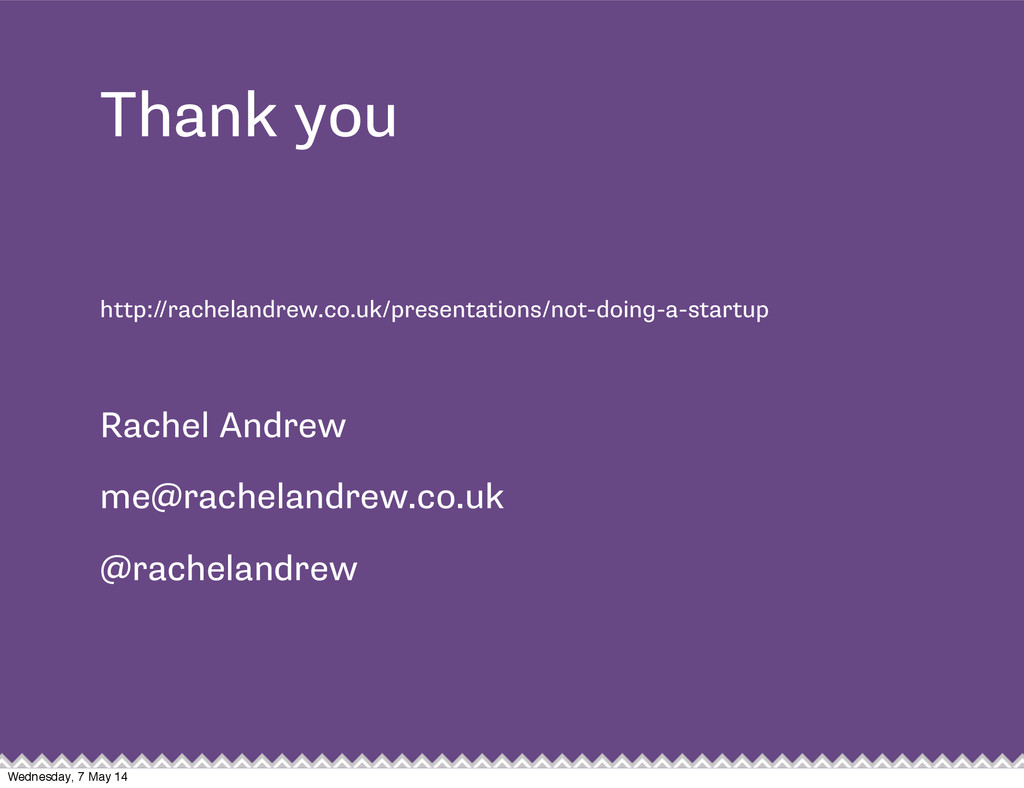 Thank you http://rachelandrew.co.uk/presentatio...