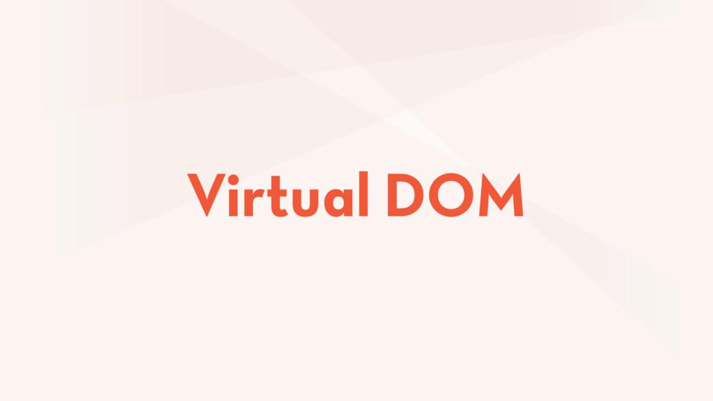 Virtual DOM