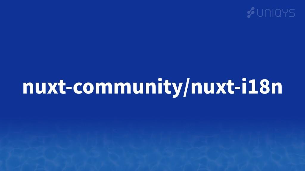 nuxt-community/nuxt-i18n