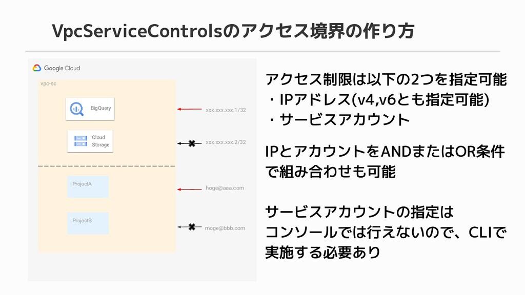 vpc-sc BigQuery Cloud Storage ProjectA ProjectB...
