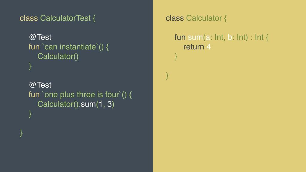@MOLSJEROEN class CalculatorTest { @Test fun `c...