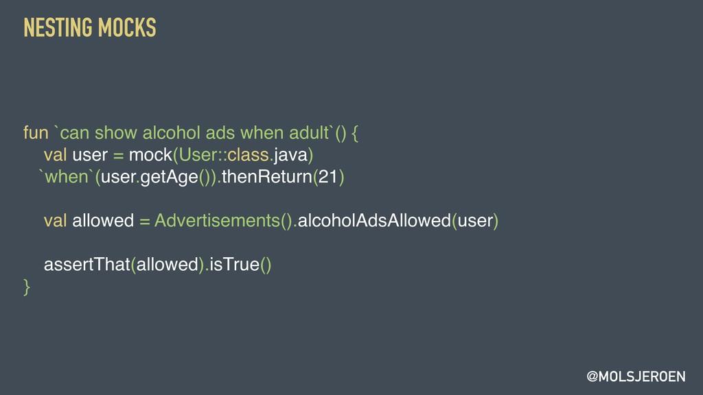 @MOLSJEROEN NESTING MOCKS fun `can show alcohol...