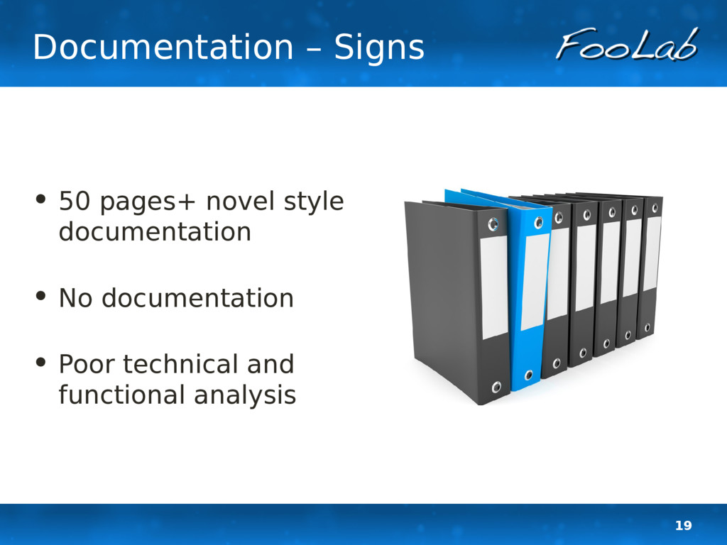 19 Documentation – Signs • 50 pages+ novel styl...