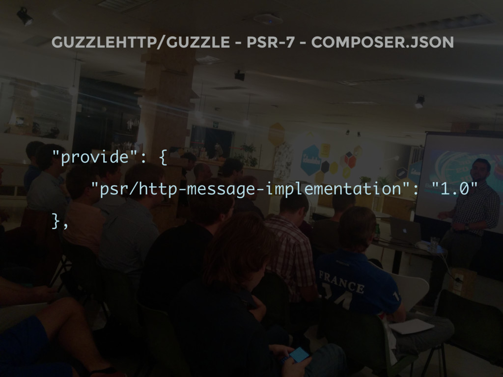 """GUZZLEHTTP/GUZZLE - PSR-7 - COMPOSER.JSON """"prov..."""