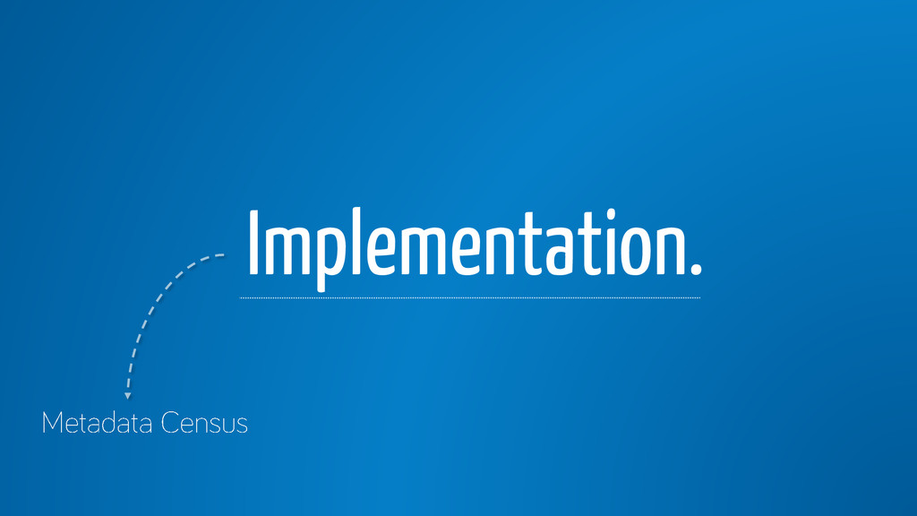 Implementation.