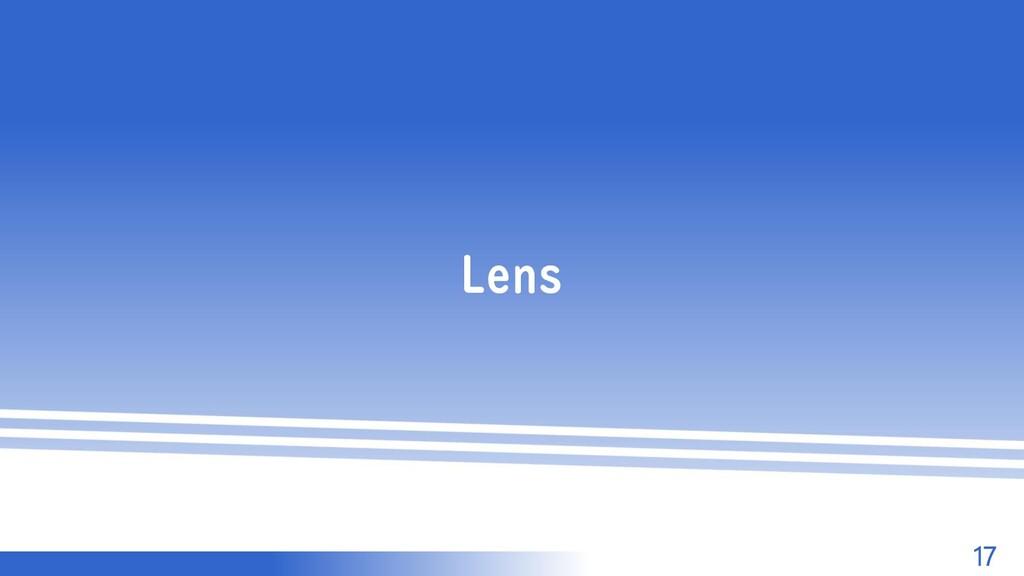 マスター タイトルの書式設定 17 Lens