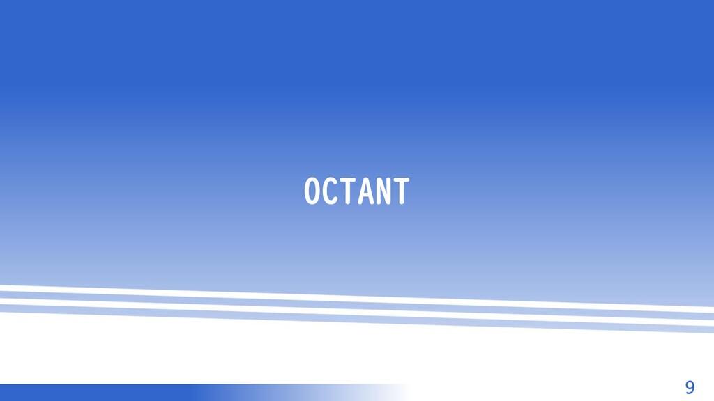マスター タイトルの書式設定 9 OCTANT