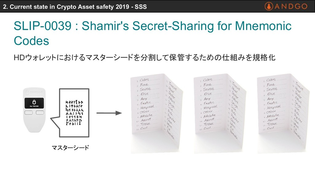 SLIP-0039 : Shamir's Secret-Sharing for Mnemoni...