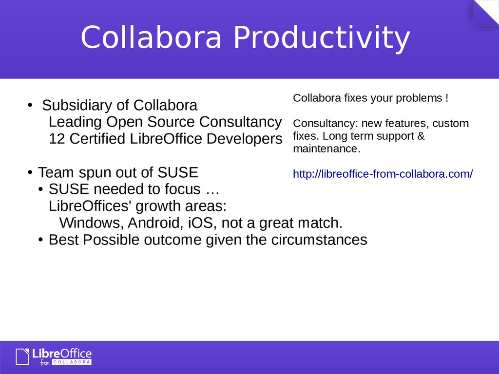 Collabora Productivity ● Michael Meeks ● Miklos...