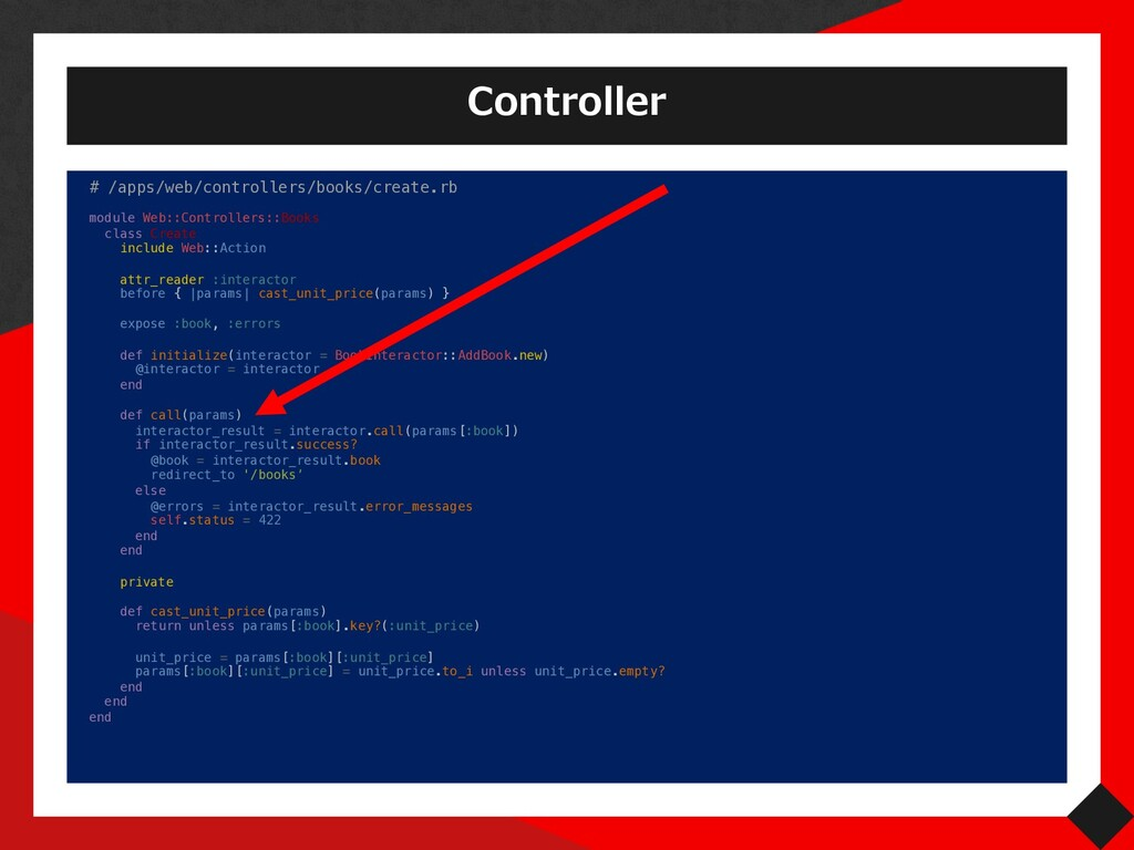 Controller # /apps/web/controllers/books/create...